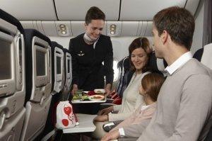 Россия: Еда на борту самолёта отменяется